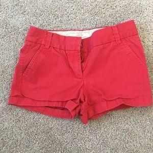 Jcrew Chino shorts size 00